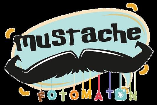 logo mustache fotomatón