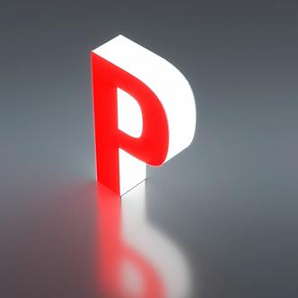 Объемные Буквы со световыми торцами