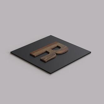 Буквы из HPL пластика