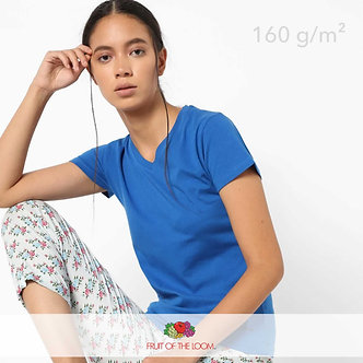Футболка Женская Ladyfit Valueweight V-Neck Fruit of The Loom