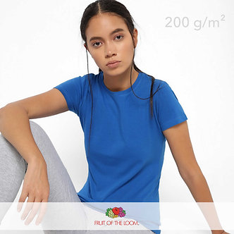 Футболка Женская Lady-Fit Crew Neck Fruit of The Loom