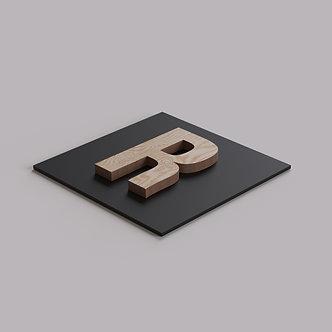 Буквы из фанеры без покрытия