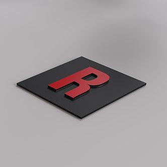 Буквы из АКП цветного