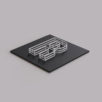 3D Буквы из PETG (3D печать)
