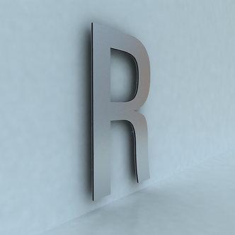 Плоские буквы из композита
