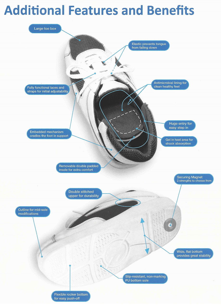 Quikiks Hands-Free Shoes -Features