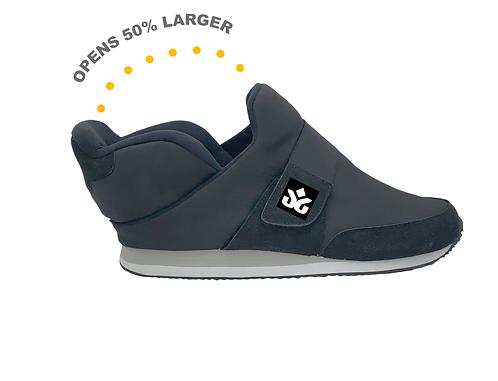 Quikiks Diabetic-Friendly Strap Sneaker, Black -Women's