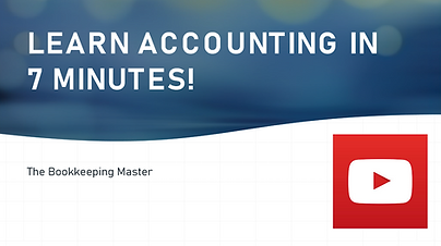 Learn accounting in 7 minutes