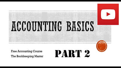 Accounting Basics Part 2
