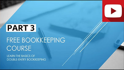 Bookkeeping Course Part 3