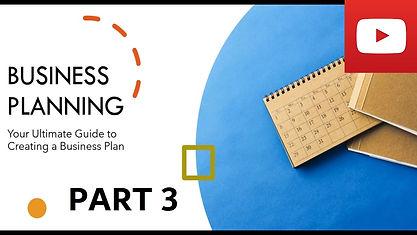 Business Plan Course Part 3