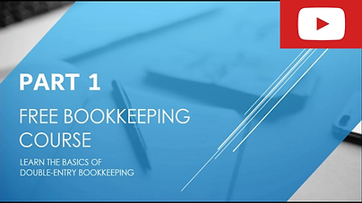 Bookkeeping Course Part 1