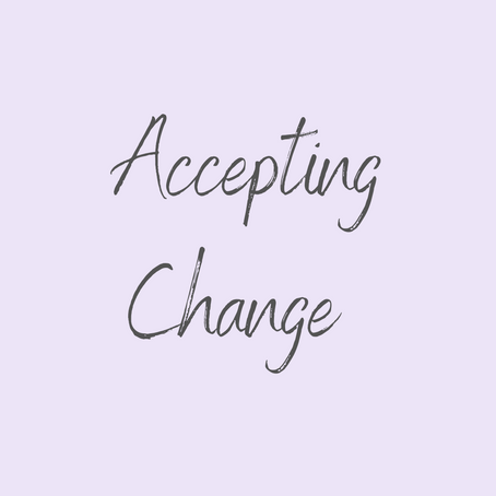 Accepting Change