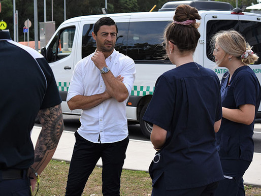 Rugby League Great Shares His Four Steps Of Good Nutrition With Coffs Health Workers