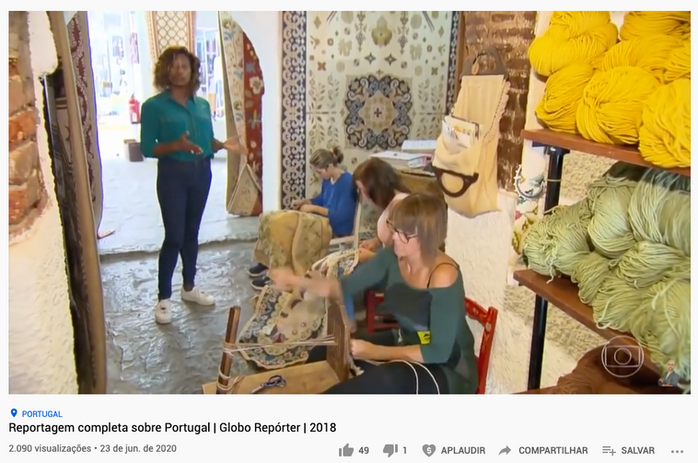 Programa Globo Repórter foi ao Alentejo, gerando um ROI de € 1,8 milhão