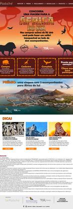 Hotsite da África do Sul