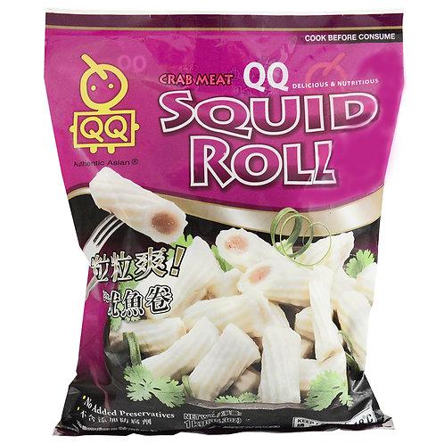 QQ Squid Roll 1kg QQ墨鱼卷