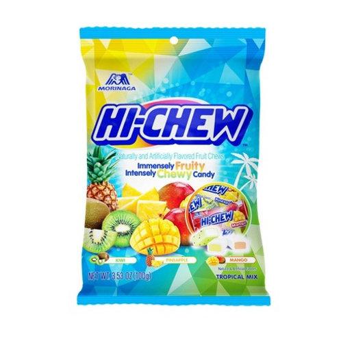 Morinaga Hi Chew Tropical Fruit Mix 100G