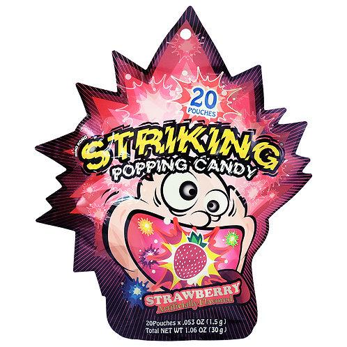 Yuhin Shocking Popping Strawberry 30g
