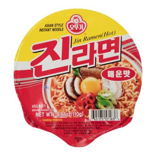 Ottogi Jin Ramen Spicy 6 Cups