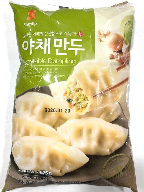Samlip Korean Vegetable Dumplings 675g