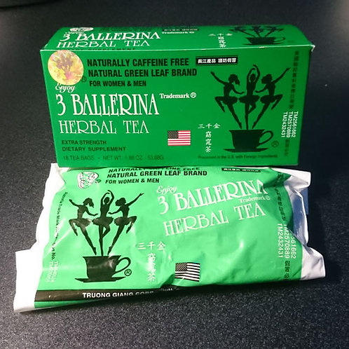 3 Ballerina Herbal Slim Tea