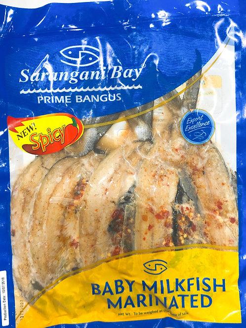 SaranganiBay Baby Milkfish Marinated Spicy 400g