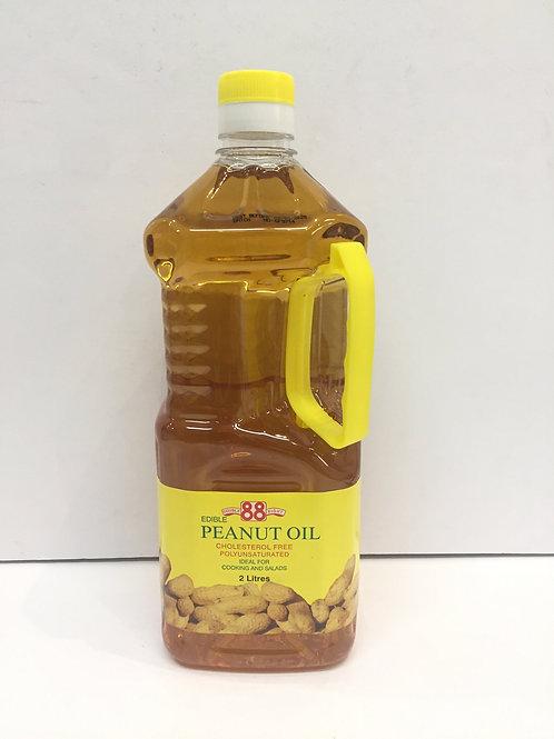 88 Peanut Oil 2L 88花生油