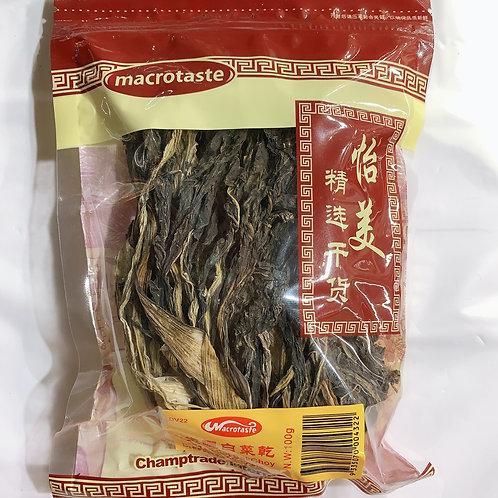 Macrotaste Dried Buck Choy 100G 生曬白菜幹