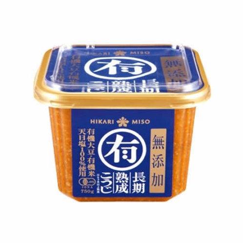 Hikari Organic Non-MSG Miso Paste 375g