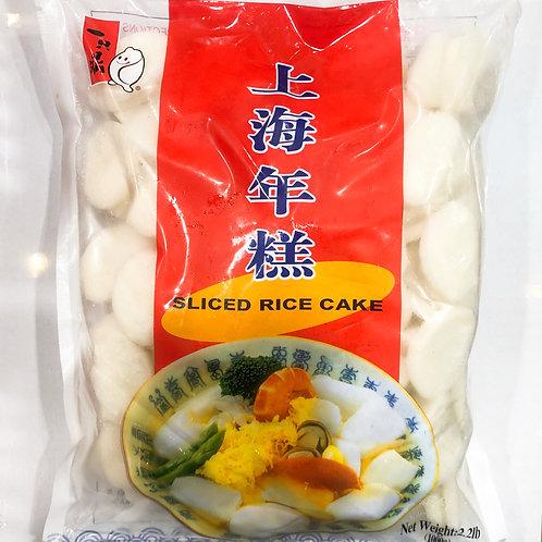 YZD Shanghai Rice Cakes 1kg 一只鼎上海年糕