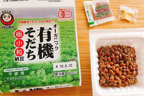 AZUMA Organic Natto 3pk