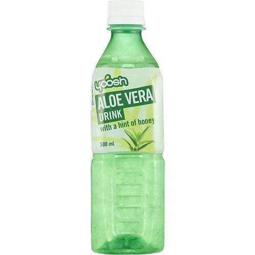 Yoosh Aloe Vera Drink with a hint of honey 500mL