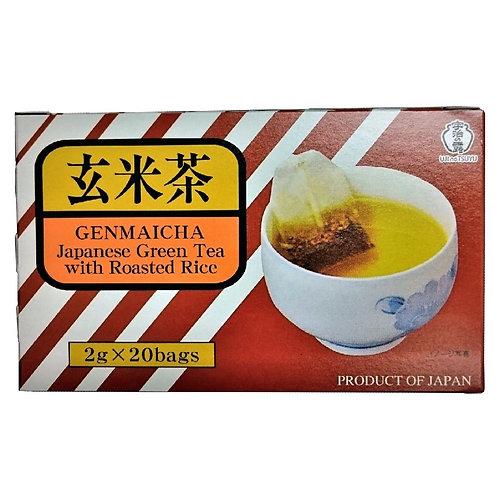 Ujinotsuyu Genmaicha 2g x 20 宇治の露玄米茶