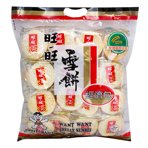 Want Want Shelly Rice Crackers 520g 旺旺雪餅