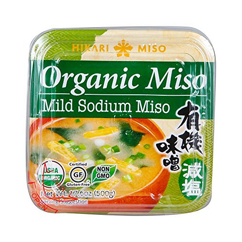 Hikari Organic Less Salt White Miso Paste 500g
