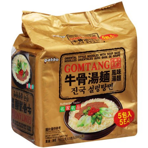 Paldo Gomtang (Beef) Noodles 5 Packs