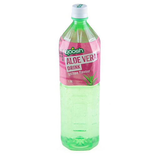 Yoosh Aloe Vera Drink Lychee Flavour 1.5L