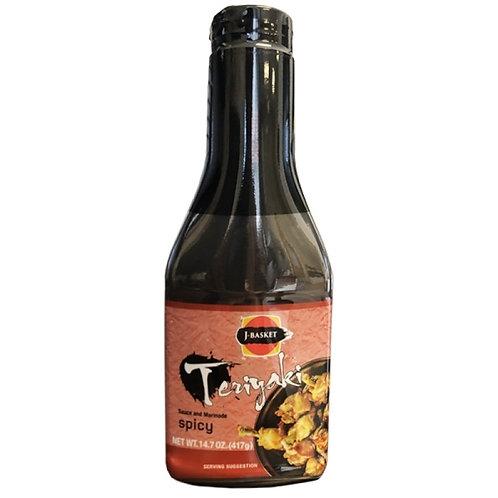 JES Teriyaki Sauce Hot 417G 照り焼きソース