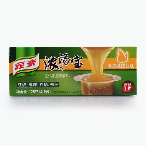 Knorr Soup Cube Chicken Flavour 128g 家樂濃湯寶老母雞味