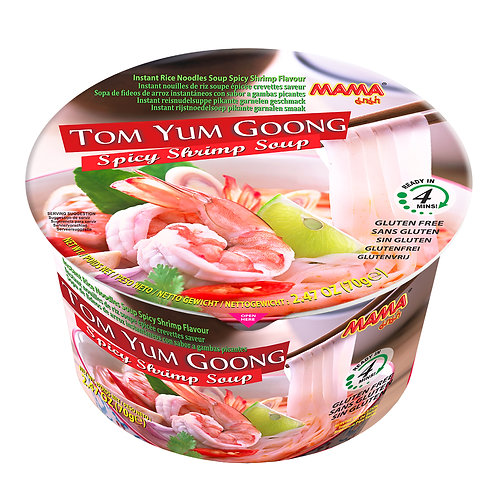 Mama Bowl Noodles Tom Yum Goong 6 Bowls Pack