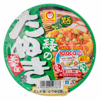Maruchyan Yakisoba Noodle 99G マルちゃん緑の狸そば