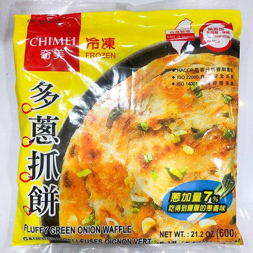 Chimei Fluffy Green Onion Pancake 600g 奇美多葱抓饼