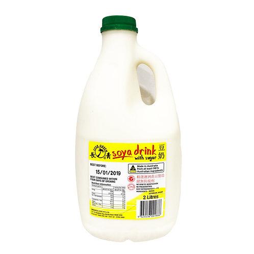 Uni-Green Soya Drink 2L 長青豆漿