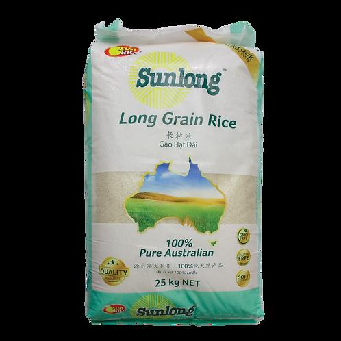 Sunrice Sunlong Long Grain Rice 25klg