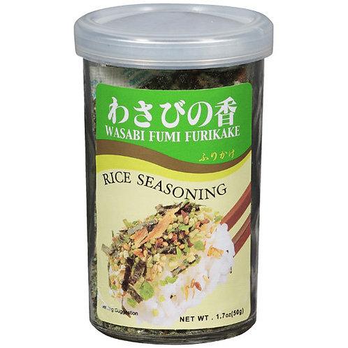 Ajishima Wasabi Rice Seasoning 50G 味島わさびの香