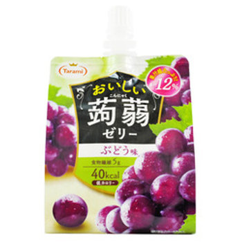Tarami Grape Konnyaku Jelly Drink 150mL