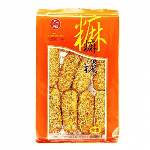 Choice Nice Sesame Puff 227g 九福麻粩