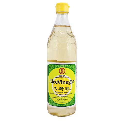 Kong Yan Rice Vinegar 600mL 工研白米醋