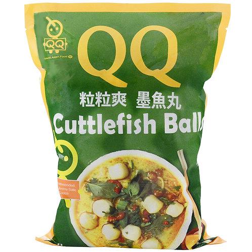 QQ Cuttlefish Balls 1kg QQ粒粒爽墨鱼丸